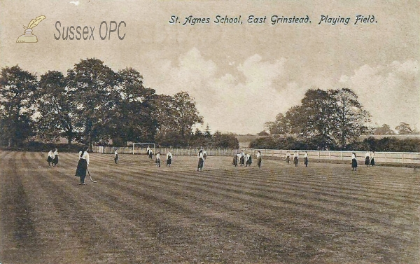 East Grinstead - St Agnes School (Playing Field)
