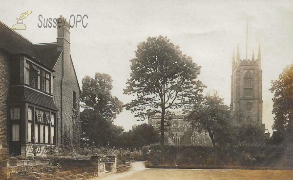 East Grinstead - St Swithun's Church & Vicarage