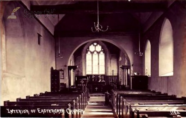 Eastergate - St George's Church (Interior)