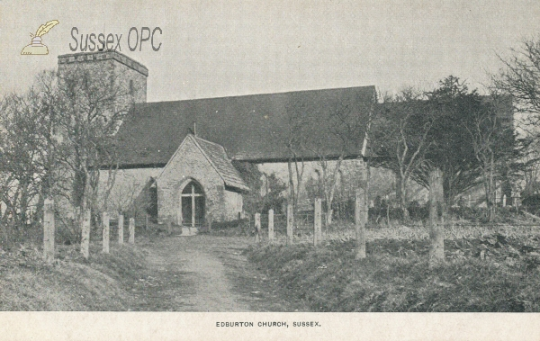 Image of Edburton - St Andrew's Church