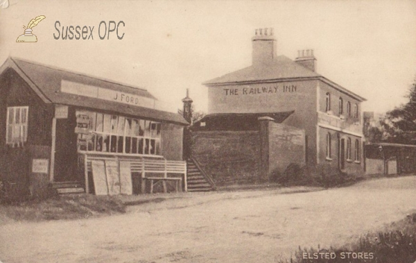 Image of Elsted - The Railway Inn & J Ford's Stores
