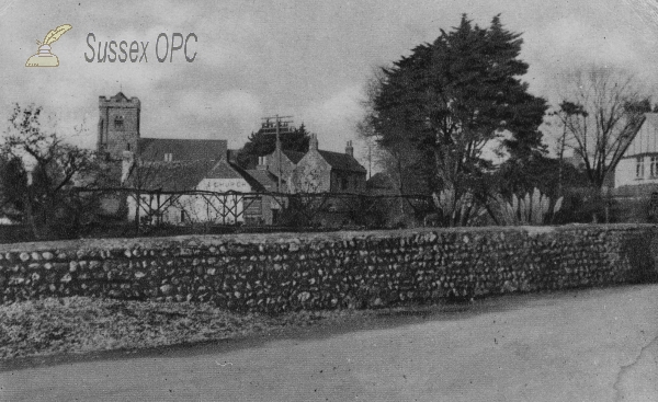 Felpham - View of the Village & Church