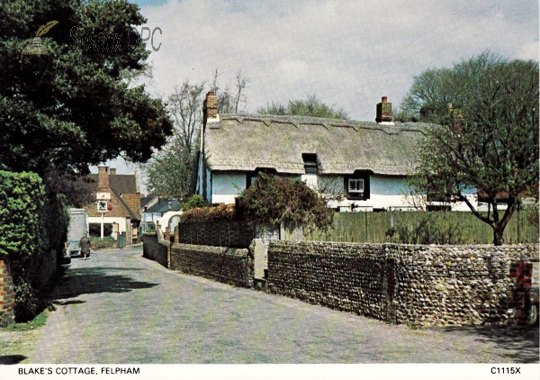 Felpham - William Blake's Cottage & Road