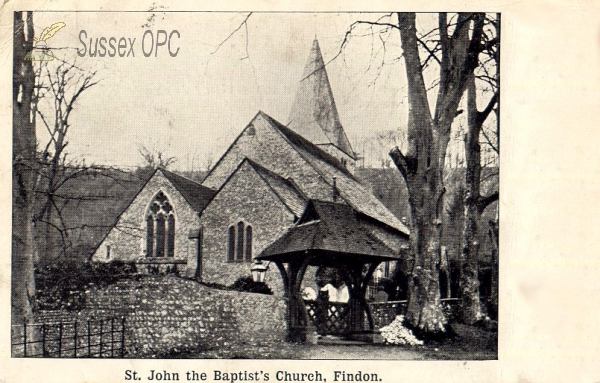 Image of Findon - St John the Baptist's Church
