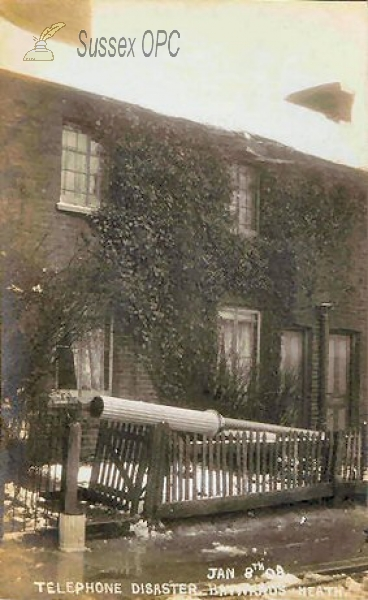 Haywards Heath - Telephone Disaster - 8th January 1908