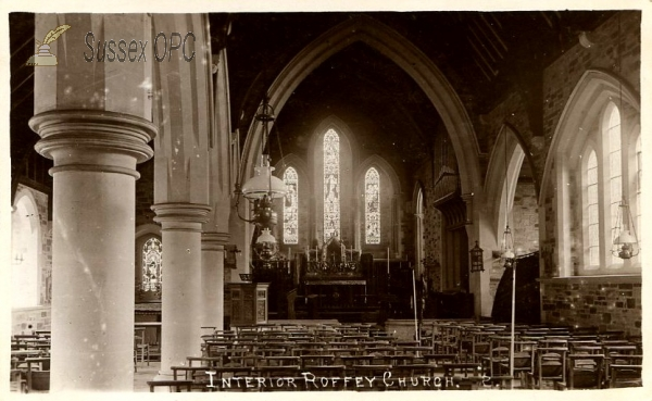 Roffey - All Saints Church (interior)