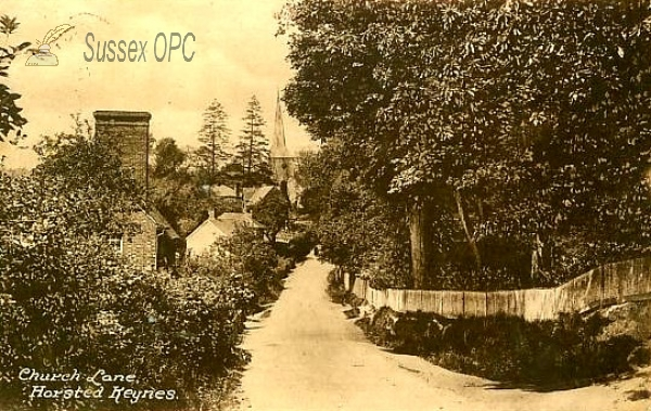 Horsted Keynes - Church Lane