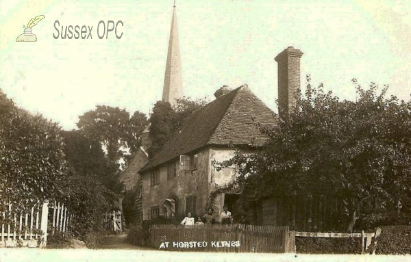 Horsted Keynes - St Giles Church & Cottages