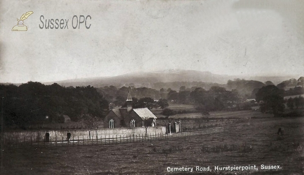 Image of Hurstpierpoint - Cemetery Road (Cemetery Chapel)
