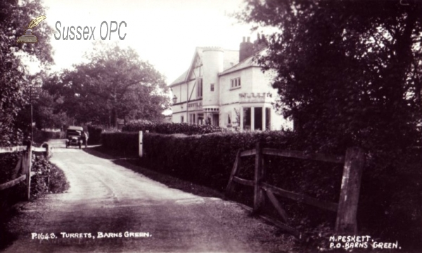 Barns Green - The village