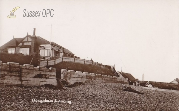 Lancing - Bungalows on Beach