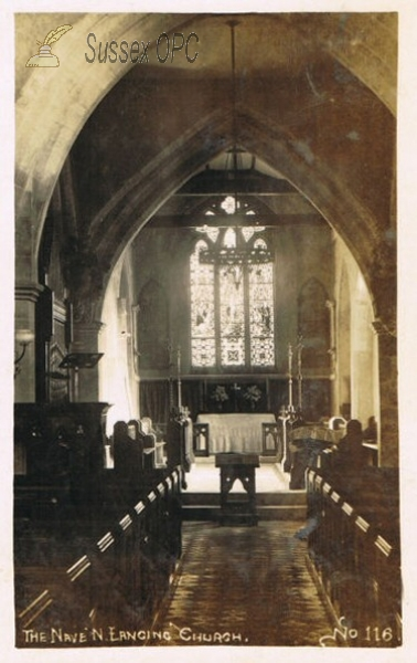 North Lancing - St James Church (Interior)
