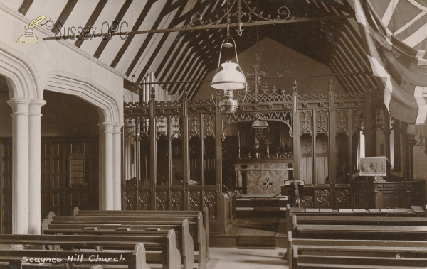 Image of Scaynes Hill - St Augustine (Interior)