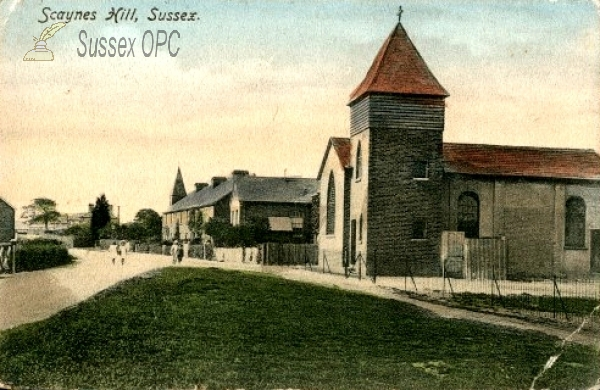 Image of Scaynes Hill - Churches