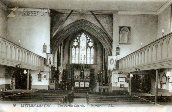Littlehampton - St Mary's Church (Interior)