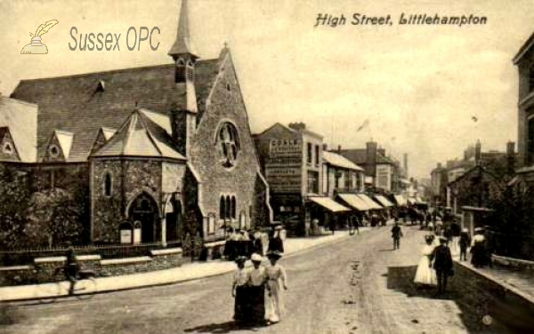Littlehampton - High Street & Congregational Church