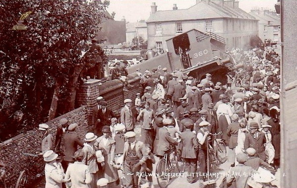 Image of Littlehampton - Railway Accident, 4th August 1920