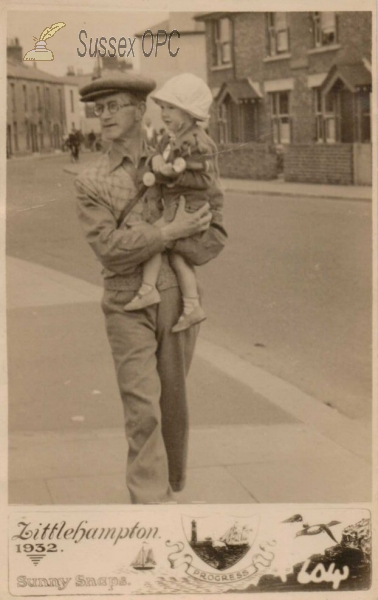 Image of Littlehampton - Man & Child