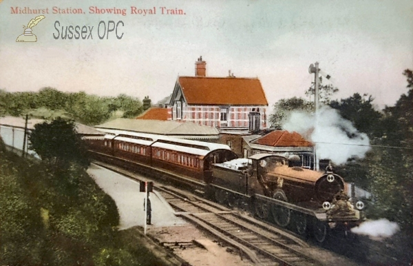 Midhurst - Railway Station (Royal Train)
