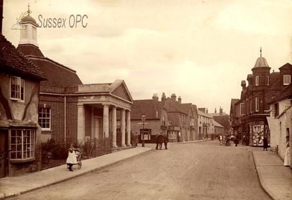 Midhurst - Bepton Road and the Congregational Church (The Temple)