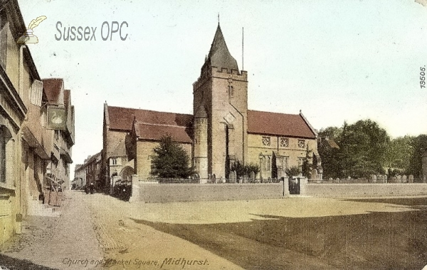 Image of Midhurst - St Mary & St Denys Church