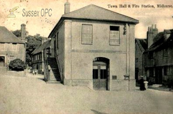 Midhurst - Town Hall & Fire Station