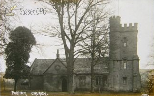 Image of Parham - St Peter's Church