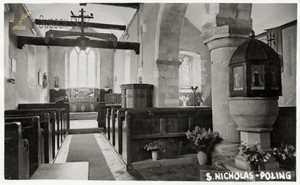 Poling - St Nicholas Church (Interior)