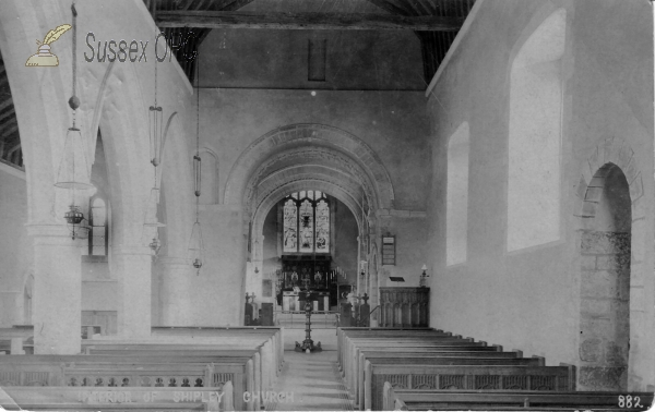 Shipley - St Mary's Church (Interior)
