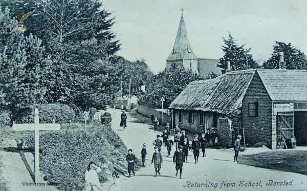South Bersted - St Mary's Church & Village