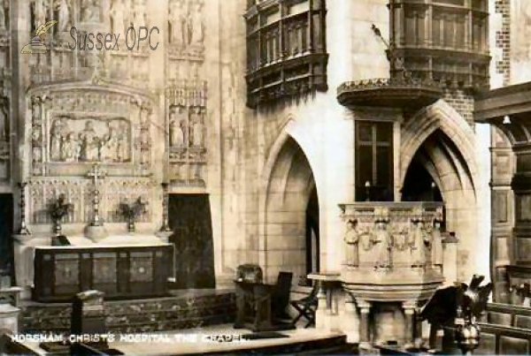 Southwater - Christ's Hospital, Chapel (Pulpit)