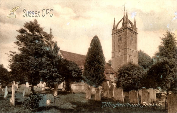 Image of Tillington - All Hallows Church