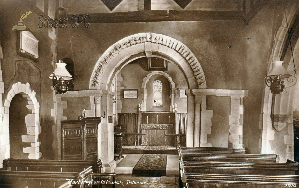 Image of Tortington - St Mary's Church (Interior)