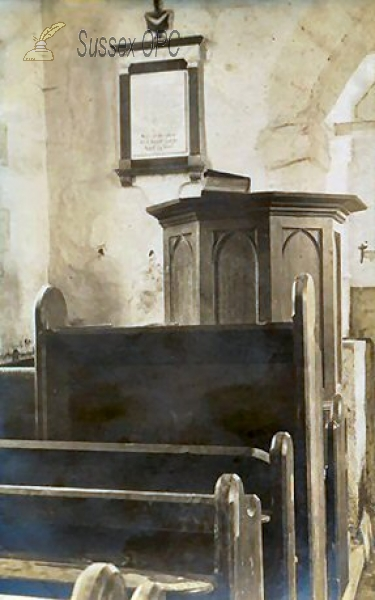 Image of Up Marden - St Michael's Church (Pulpit)