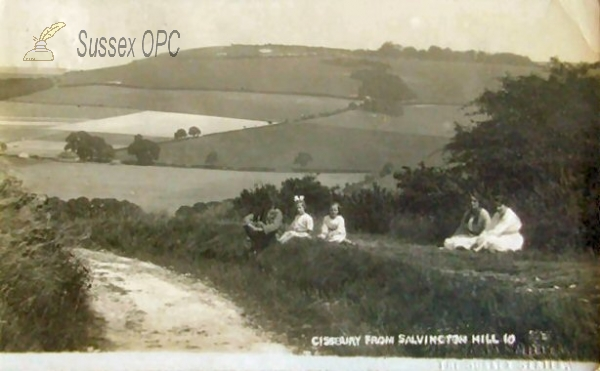 Image of Cissbury - View from Salvington Hill