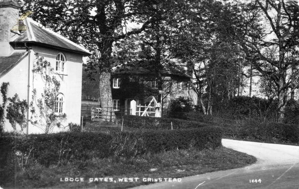 West Grinstead - Lodge Gates
