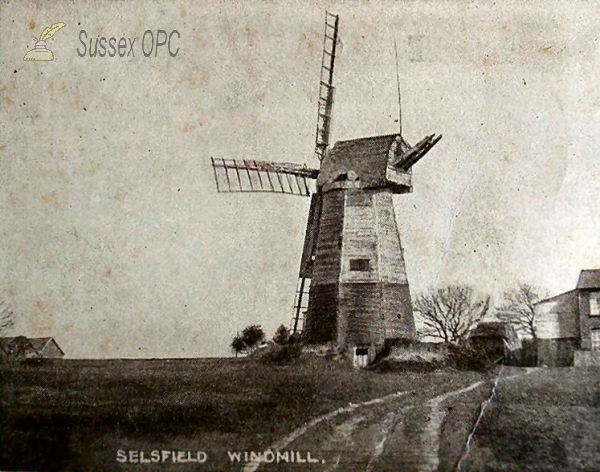 West Hoathly - Selsfield Common - Windmill