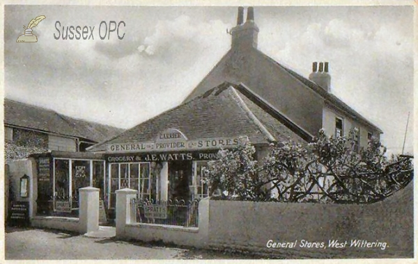 West Wittering - General Stores (J E Watts)
