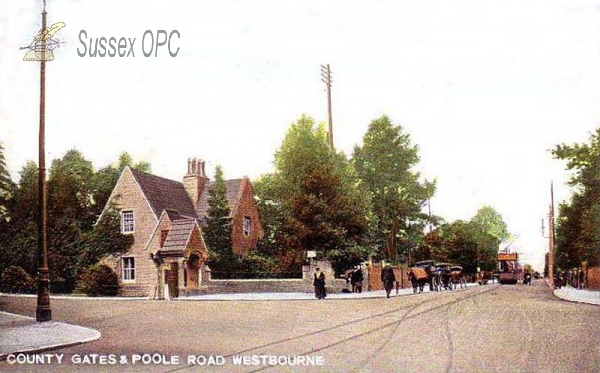 Image of Westbourne - County Gates & Poole Road