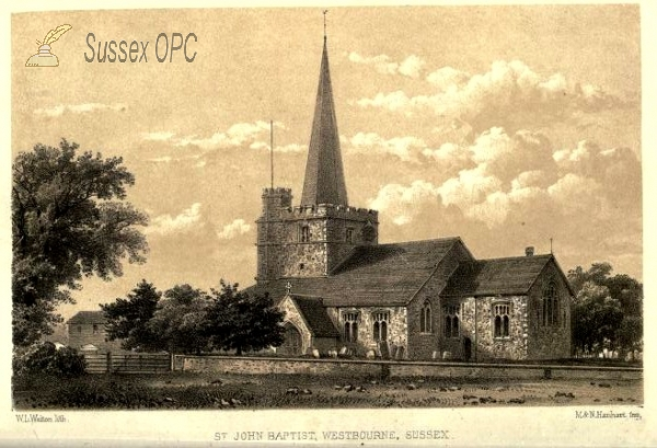 Image of Westbourne - St John the Baptist Church