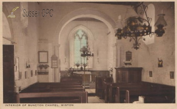 Image of Wiston - All Saints Chapel, Buncton (Interior)