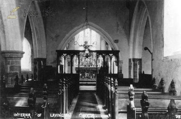 East Lavington - St Peter's Church (Interior)