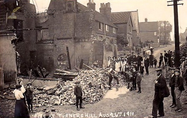 Image of Turners Hill - Fire - Aug 26th, 1911