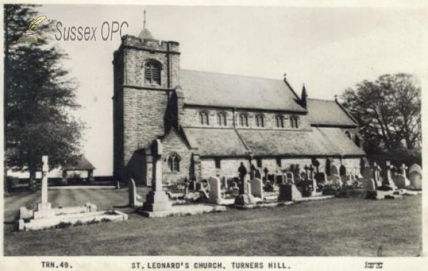 Image of Turners Hill - St Leonard's Church