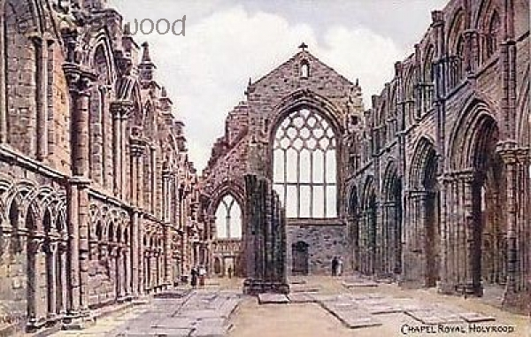 Edinburgh - Holyrood Abbey Church