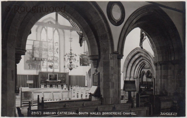 Brecon - Cathedral (Borderers' Chapel)