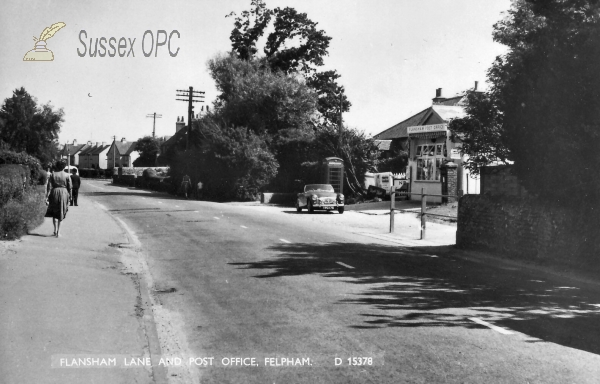 Image of Felpham - Flansham Lane & Post Office