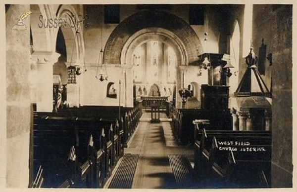 Westfield - St John the Baptist Church (Interior)