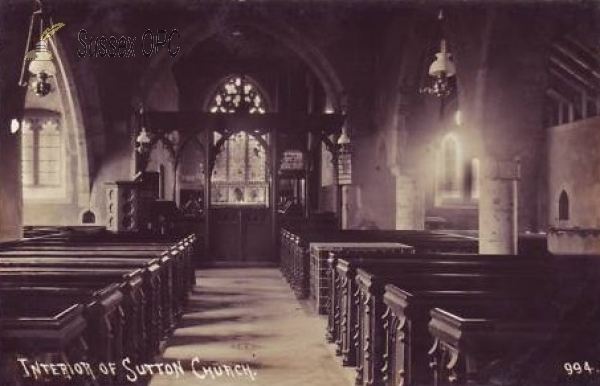 Image of Sutton - St John the Baptist Church (Interior)