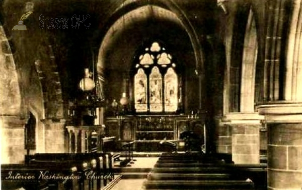 Washington - St Mary's Church (Interior)
